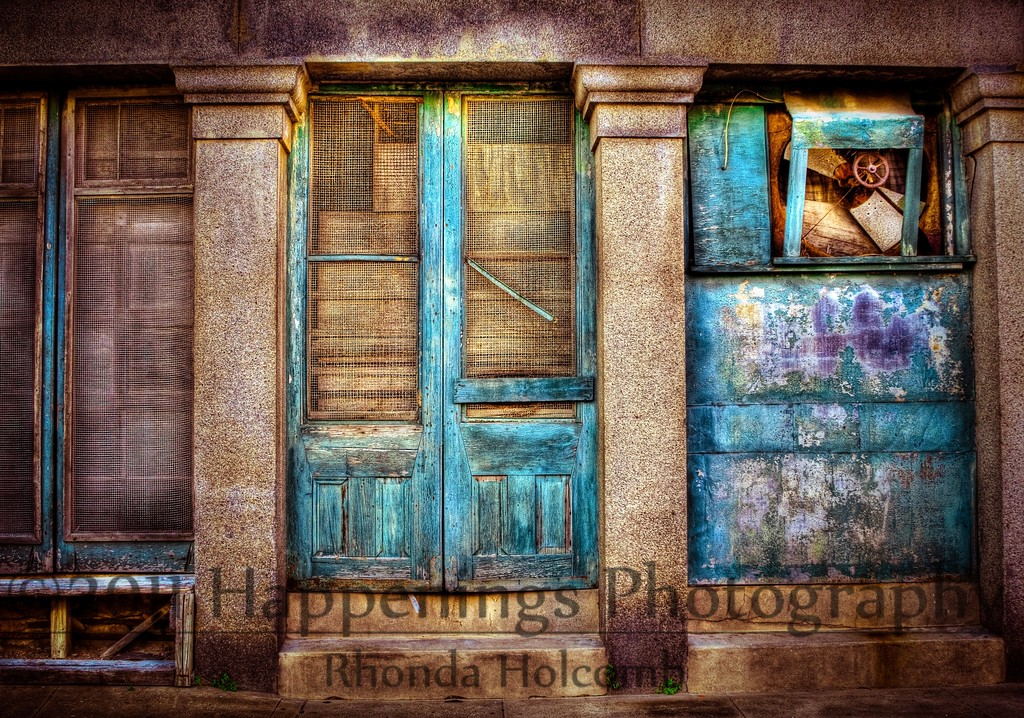 Closed Doors by Rhonda Holcomb