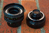 Sigma Filtermatic 16mm f/2.8 Fisheye (c. 1980), opened for access to internal 22.5mm filter
