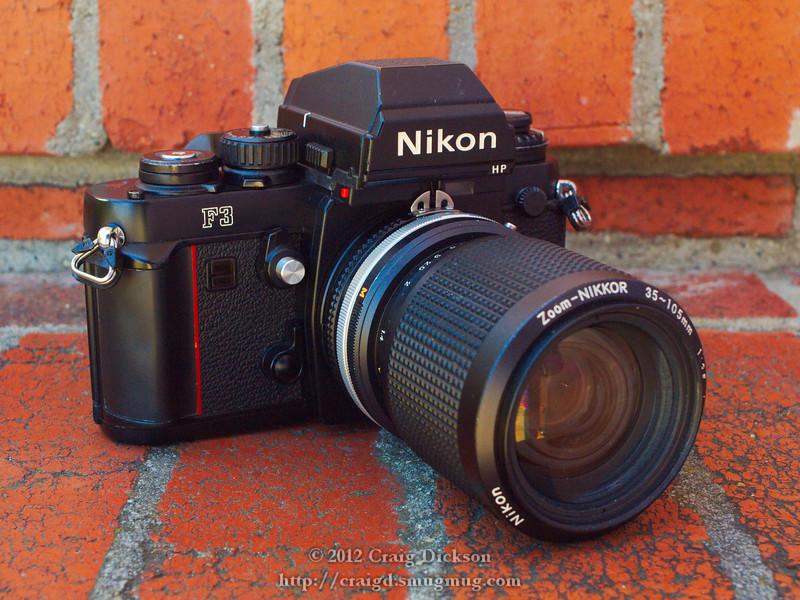 Nikon F3HP (c. 1986) with Zoom-Nikkor 35-105mm f/3.5-4.5
