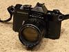 Asahi Pentax Spotmatic F with Super Takumar 85mm f/1.9 lens