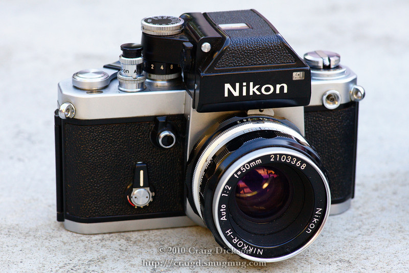 Nikon F2 Photomic with Nikkor-H 50mm f/2 (1972)