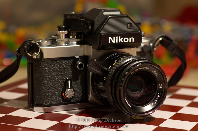 Nikon F2S (1974) with PC-Nikkor 35mm f/2.8