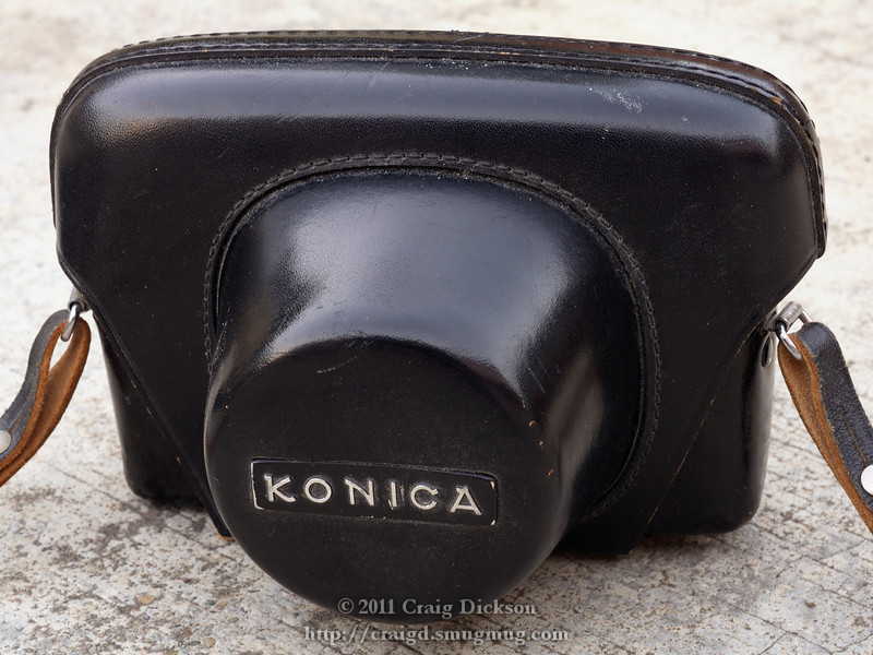 Konica ever-ready case for Auto S2 (c.1965-7)