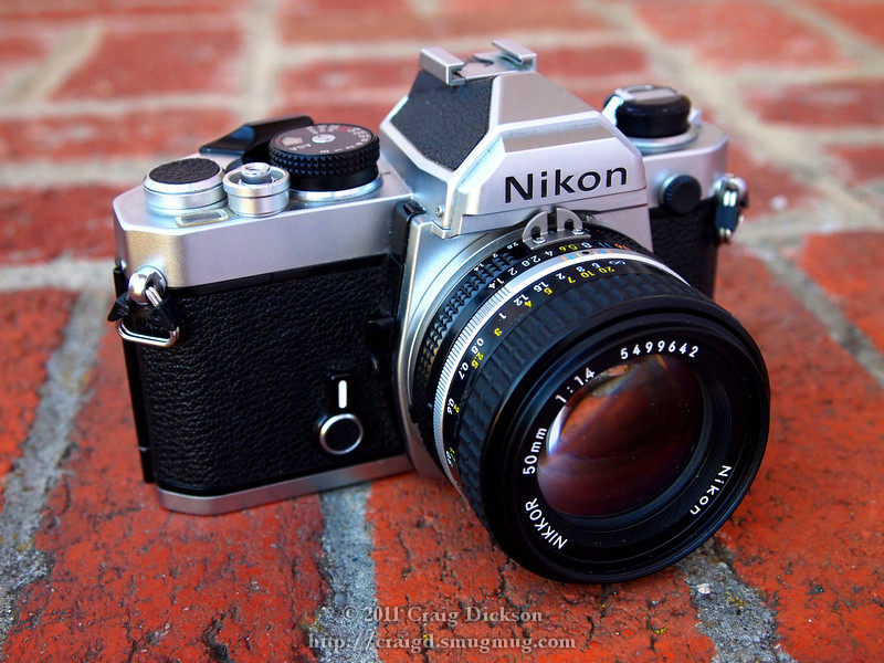 Nikon FM (1977) with Nikkor 50mm f/1.4 AI-S