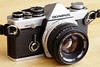 Olympus OM-2N with 50mm f/1.8 lens (early 1980s)