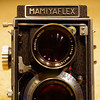 Mamiyaflex C2 with Mamiya-Sekor 8cm f/2.8 lens and Seikosha MXL shutter (1958-1962)