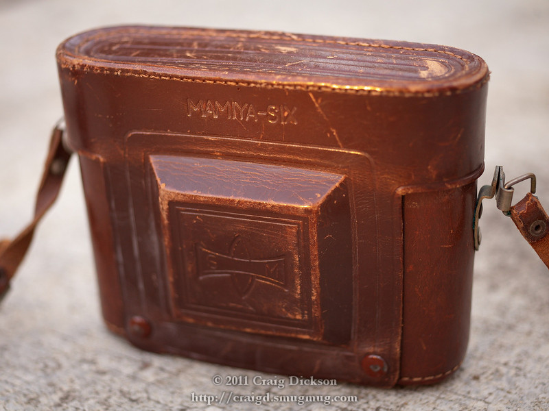 Mamiya Six (type IV) ever-ready case (c. 1947)