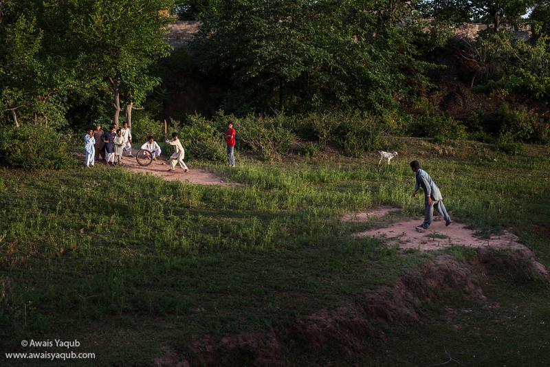 Village cricket team