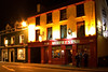 Murphy's in Dingle. We spent the evening playing cards and listening to Irish music in this pub. It's hand-held (1/6 second exposure) and so does not stand up to too much enlargement.
