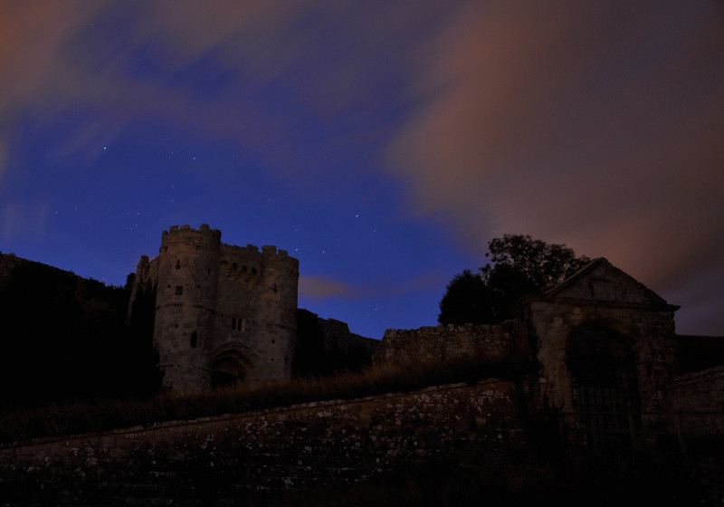 Carisbrooke Castle, Isle of Wight. September 2013.