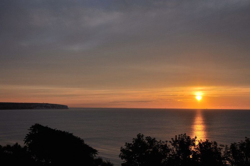 Sandown Bay, Isle of Wight. September 2013.