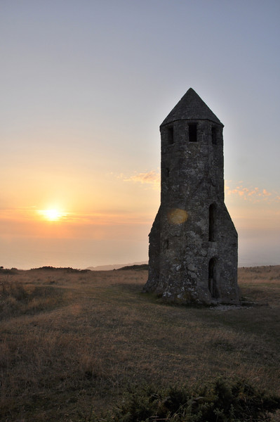 'The Pepperpot', Blackgang. Isle of Wight. September 2013.