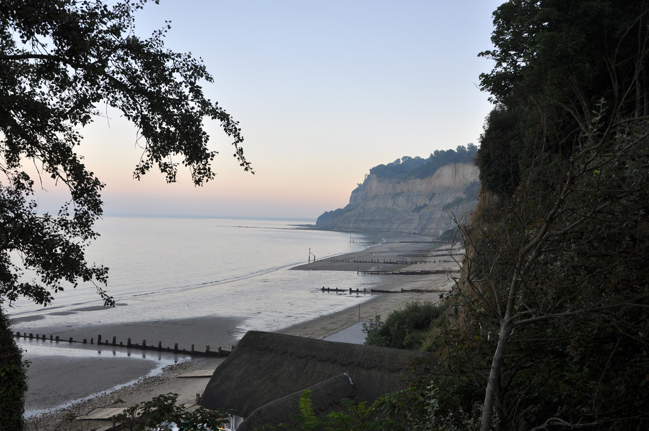 Luccombe Bay, Isle of Wight. September 2013.