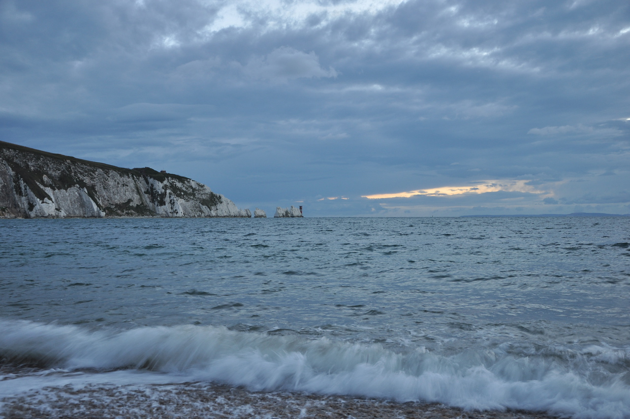 The Needles, Isle of Wight. September 2013.