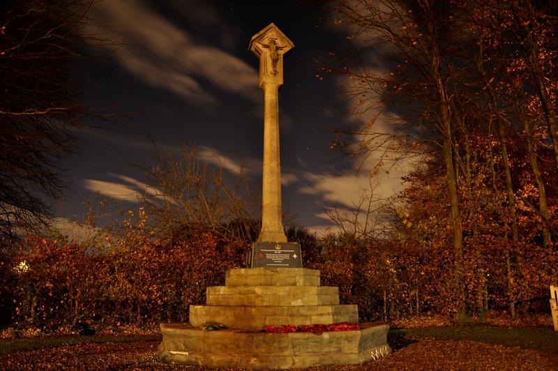 Sefton Memorial Monument. November 2013.