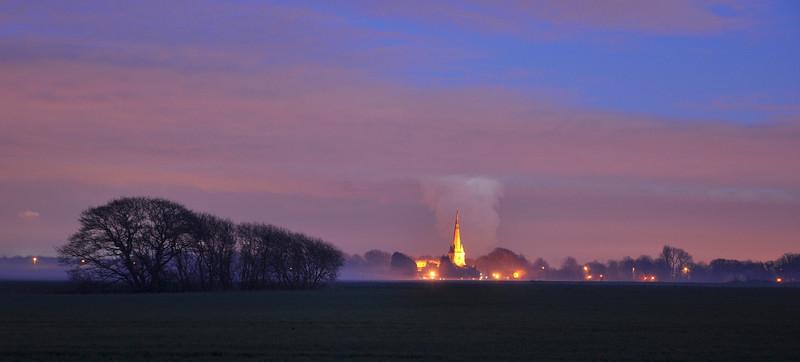 Sefton Church. January 2014.