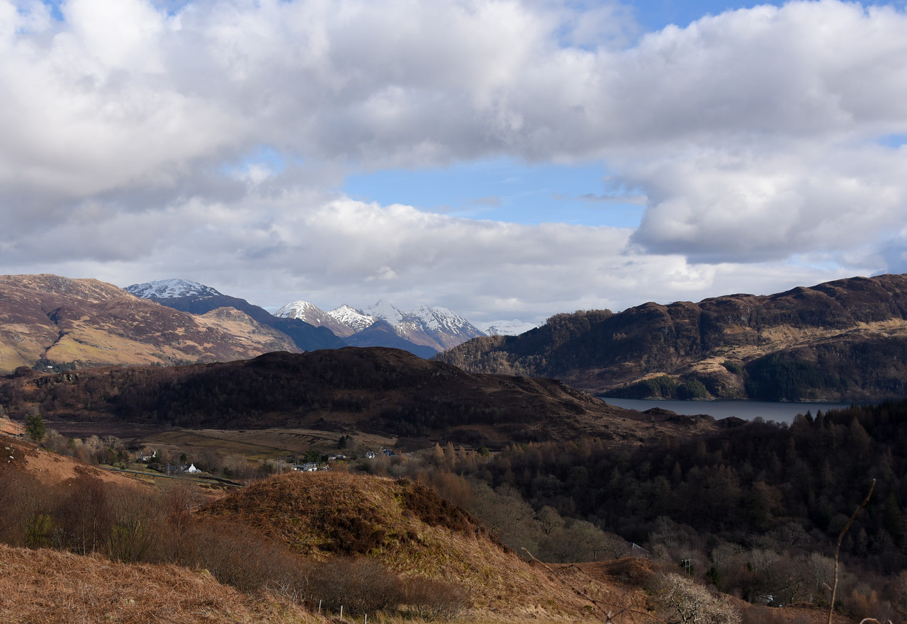 The Sisters of Kintail. April 2018.