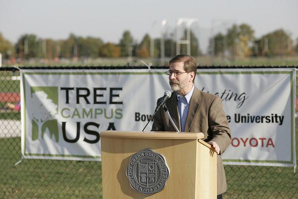 BGSU Arbor Day Tree Planting