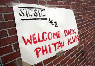 Phi Kappa Tau House Closing ceremony
