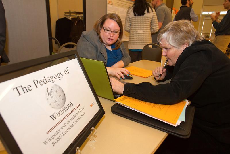 Left to Right: Suzanne V. L. Berg, Linda Lander