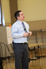 Guest speaker, Todd Zakrajsek at the Teaching & Learning Fair