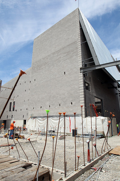 Wolfe Center Construction