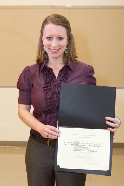 Miriam Hahn - Shanklin award winner
