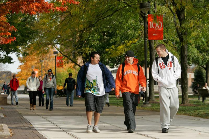 BGSU campus fall 2009