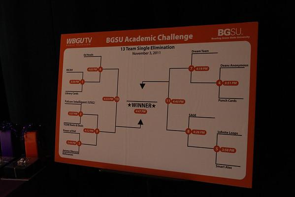 BGSU Academic Challenge with Dr. Mazey 11-3-11