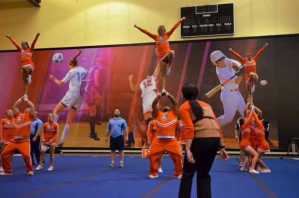 BGSU Cheerleading finals