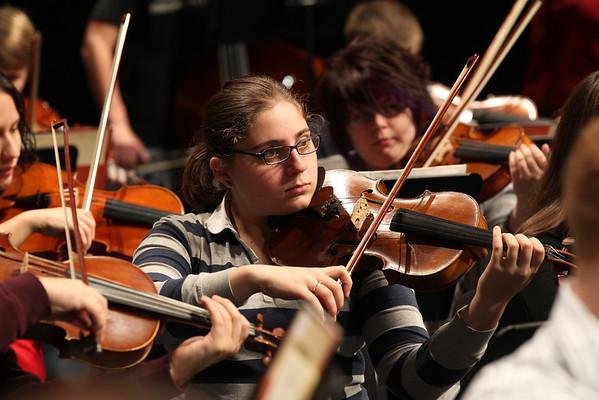 CMA Philharmonic Orchestra Rehearsal