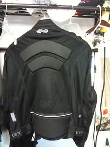 Motorcycle Jacket back