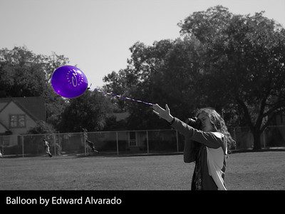 Balloon by Edward Alvarado