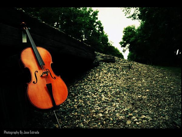cello poster by jose estrada