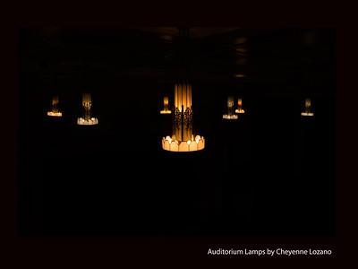 Auditorium Lamps y Cheyenne Lozano