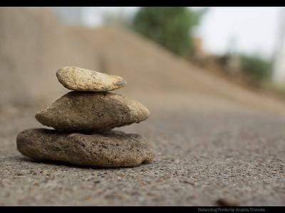 Balancing Rocks by Angela Totsuka