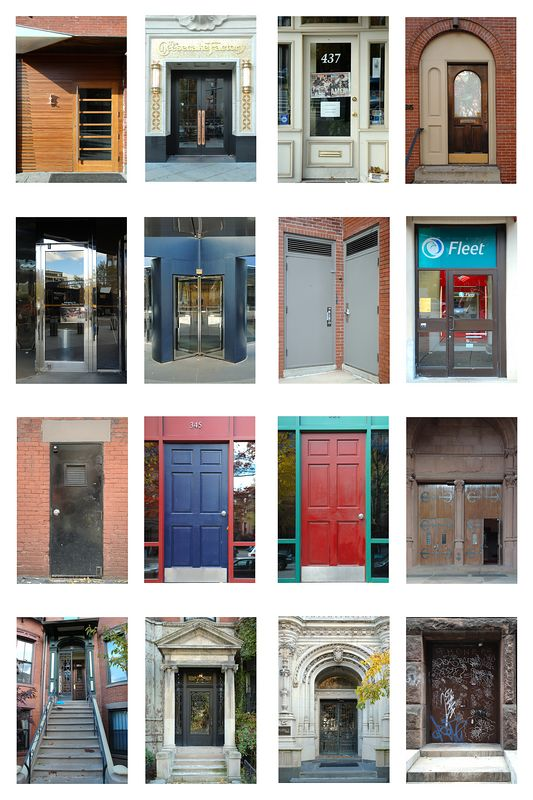 Doors of Boston.