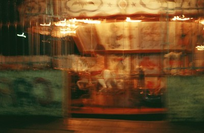 """Night Rider"" Buenos Aires, Argentina © Elizabeth Christopher 2004"