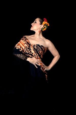 Rosa Mercedes, world famous flamenco dancer