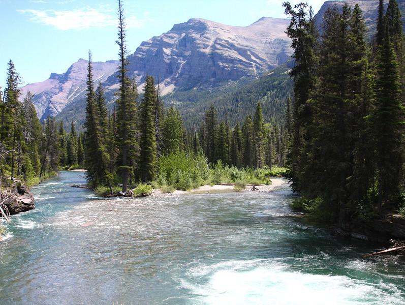 St. Mary River, Glacier National Park