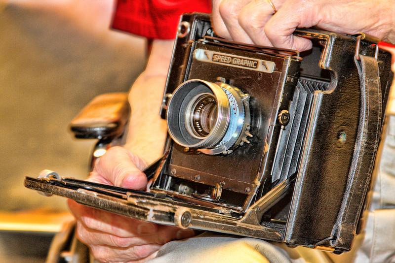 Honor Flight - Camera Gear used in World War II