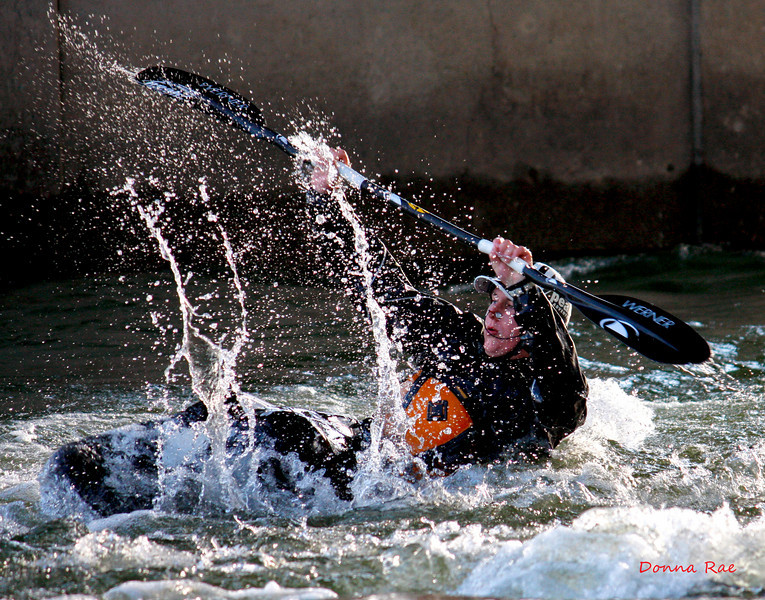 Hydro Therapy Session on the Spokane River at Dead Dog Hole.