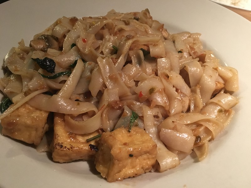Tofu Drunken Noodles @ Madam Mams, Hill Country Galleria