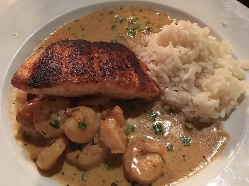 Salmon Grilled Fish @ Gumbos Round Rock