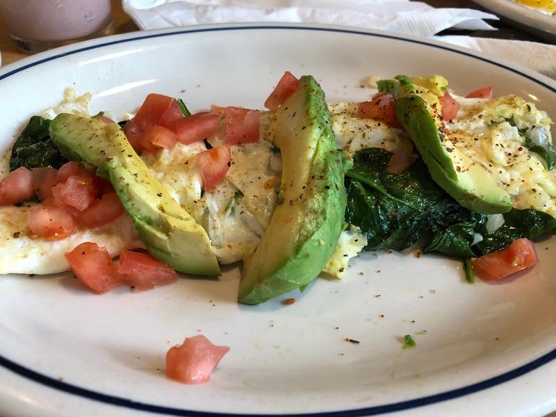 stuffed Veg Omelette @IHOP, Austin