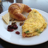 Croissant, Omelette with Raisins and cheese@Haytt, Austin