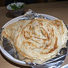 Naan in Chinese Restaurant In Shanghai, China