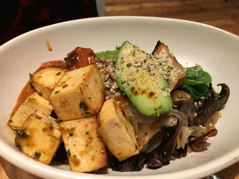 Ancient Grains Tofu Bowl at True Food Kitchen, Austin