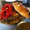Sprouted Veggie Burger @ The Counter, Santana Row, San Jose