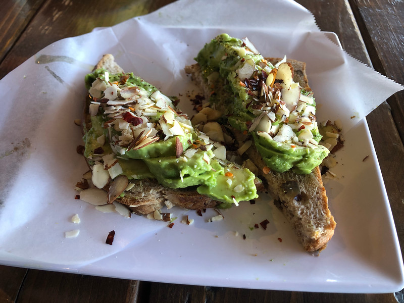 Avocado Toast @ Big MUG Coffee Roaster, Santa Clara